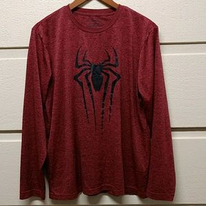 The Amazing Spiderman 2 Marvel Long Sleeve Tee L